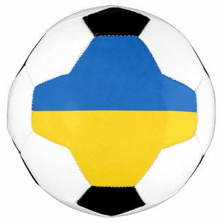 ウクライナのサッカーボールの旗 サッカーボール