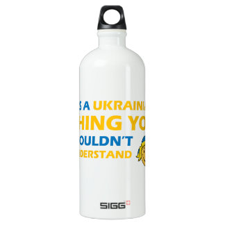 ウクライナのスマイリーのデザイン ウォーターボトル