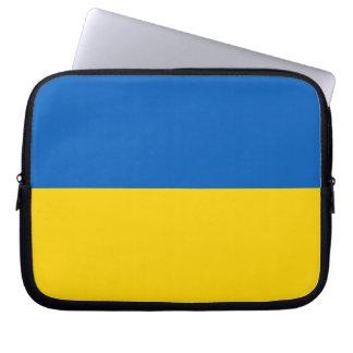 ウクライナの国旗 ラップトップスリーブ