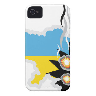 ウクライナの対立のベクトル Case-Mate iPhone 4 ケース