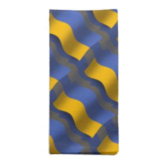 ウクライナの振る旗 ナプキンクロス