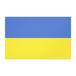 ウクライナの旗 キャンバスプリント