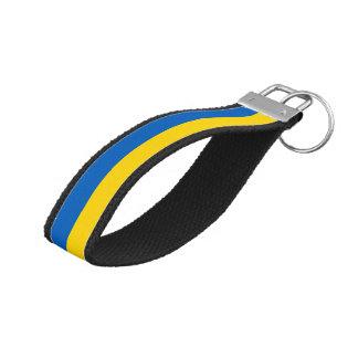 ウクライナの旗 リストバンドキーホルダー