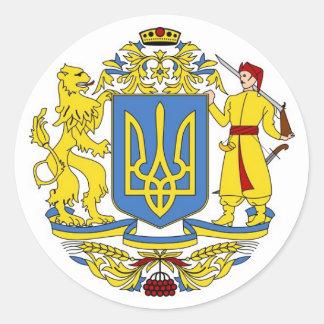 ウクライナの紋章付き外衣 ラウンドシール