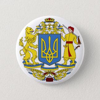 ウクライナの紋章付き外衣 5.7CM 丸型バッジ