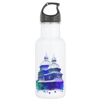 ウクライナ教会色のsolash ウォーターボトル