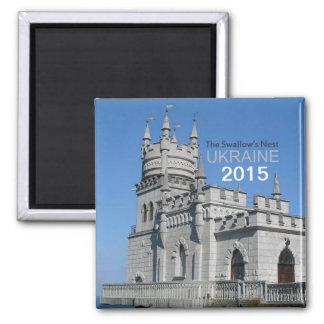 ウクライナ旅行磁石のつばめの巣の変更年 マグネット
