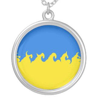 ウクライナ すごい 旗