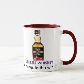 ウクレレのウィスキーのマグ マグカップ