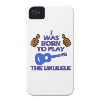 ウクレレのミュージカルのデザイン Case-Mate iPhone 4 ケース
