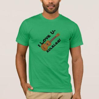 ウクレレプレーヤーのTシャツ Tシャツ