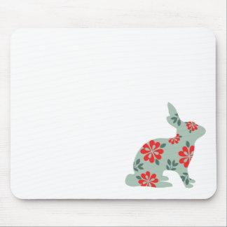ウサギのアリスのマトリックスの公平な島のプリントを後を追って下さい マウスパッド