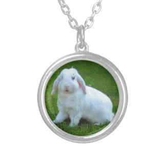 ウサギのネックレス シルバープレートネックレス