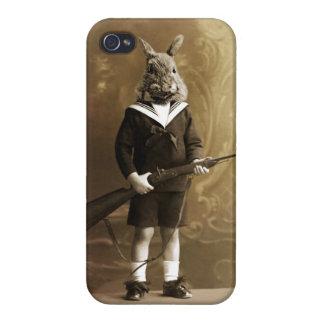 ウサギのハンター iPhone 4 CASE
