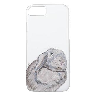 ウサギのバニーの電話箱、ウサギの絵 iPhone 7ケース