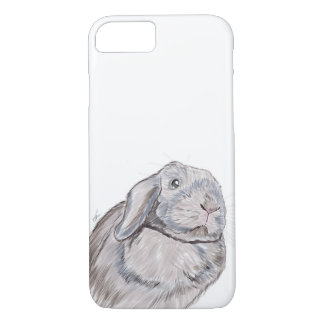 ウサギのバニーの電話箱、ウサギの絵 iPhone 8/7ケース
