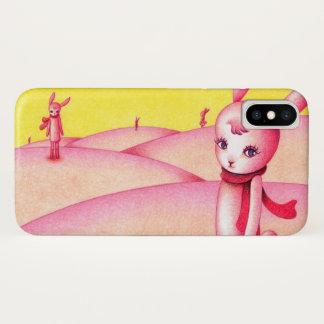 ウサギの国 iPhone X ケース