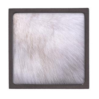 ウサギの毛皮 ギフトボックス