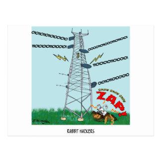 ウサギの漫画9191 ポストカード
