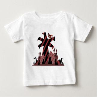 ウサギの男 ベビーTシャツ