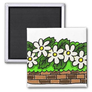 ウサギの花壇 マグネット