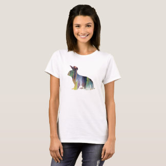 ウサギの芸術 Tシャツ