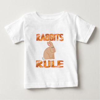 ウサギの規則 ベビーTシャツ