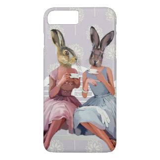 ウサギの雑談 iPhone 8 PLUS/7 PLUSケース