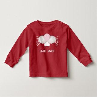 ウサギの鼻のスニファのスニファ、Atchuuuのくしゃみ トドラーTシャツ