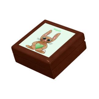 ウサギのBirthstoneの威厳があるなペリドット ギフトボックス