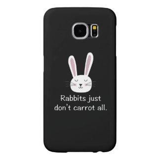 ウサギはどうしてもにんじんすべて SAMSUNG GALAXY S6 ケース