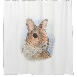 ウサギ62 シャワーカーテン