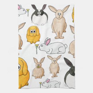 ウサギ キッチンタオル