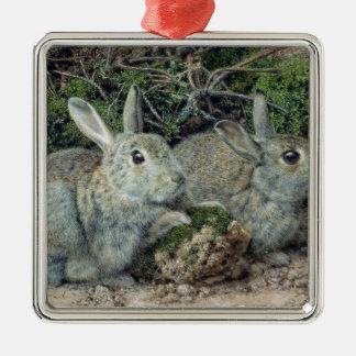 ウサギ メタルオーナメント
