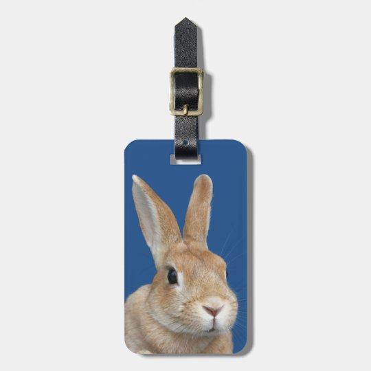 ウサギ ラゲッジタグ
