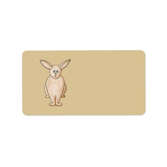 ウサギ 宛名ラベル