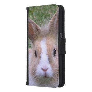 ウサギ GALAXY S6 ウォレットケース