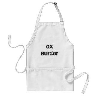 ウシのハンバーガー スタンダードエプロン