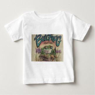 ウシガエルのマリーナ ベビーTシャツ