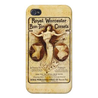 ウスターの王室のなコルセット iPhone 4/4S COVER
