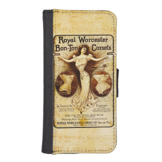 ウスターの王室のなコルセット iPhoneSE/5/5sウォレットケース