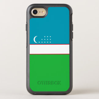 ウズベキスタンのオッターボックスのiPhoneの場合の旗 オッターボックスシンメトリーiPhone 8/7 ケース