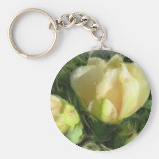 ウチワサボテンサボテンの花 キーホルダー