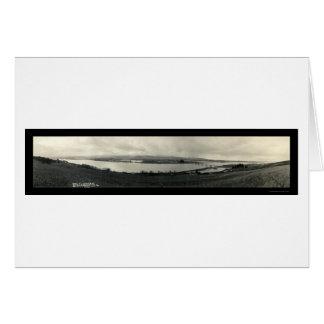 ウナギの川のScotiaの海の写真1912年 カード