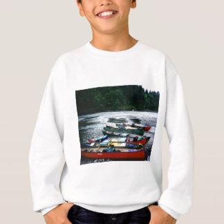 ウナギの川、カリフォルニア スウェットシャツ