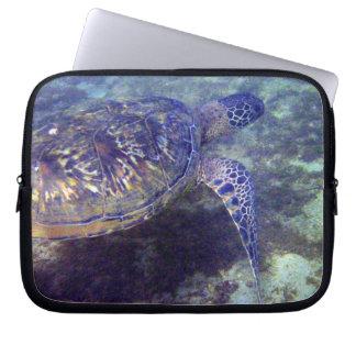 ウミガメのハワイアンのHonuの電子工学のバッグ コンピュータスリーブケース
