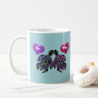 ウミガメのラブソング コーヒーマグカップ
