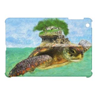 ウミガメの島のipadの小型場合 iPad miniカバー