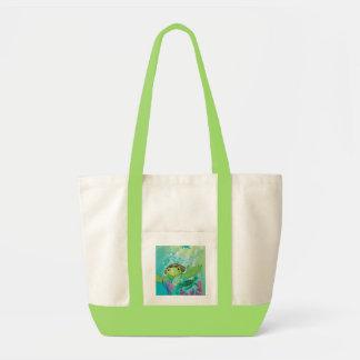 ウミガメの救助 トートバッグ