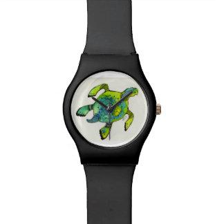 ウミガメの腕時計-ライム病の認識度 腕時計